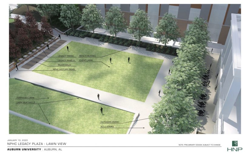 Auburn trustees approve Legacy Plaza to celebrate 'Divine Nine' Greek groups