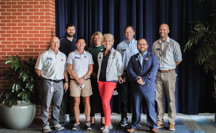 Student Affairs employees recognized for years of service to Auburn University