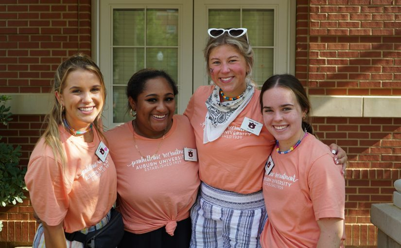 Pi Chis contribute to the successful week of Panhellenic recruitment