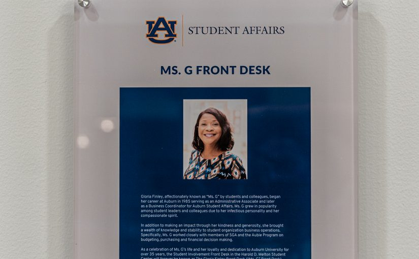 Student Affairs honors legacy of Gloria Finley
