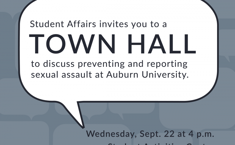 Watch the Sept. 22 Town Hall on Sexual Assault Reporting and Prevention